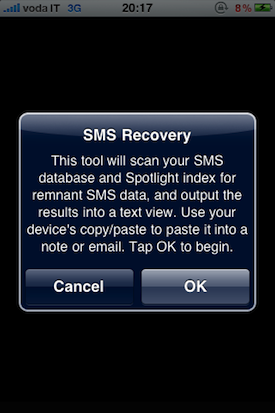 undelete sms text messages to retrieve accidentally deleted