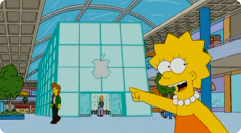 Apple - Lisa - Simpsons
