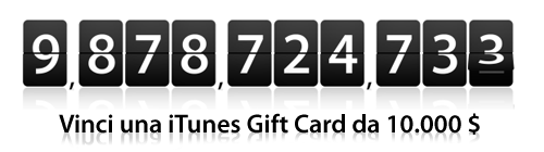 Contatore iTunes Music Store